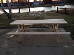 Handmade Outdoor Furniture by Picnic Tables For Sale In Maine