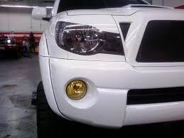 toyota tacoma hid fog lights yellow foglights tacoma