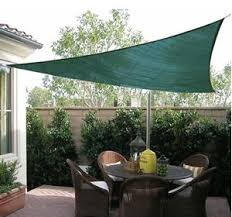 Sail Canopy For Patio Convenience Boutique 16 5 U0027 Triangle Outdoor Patio Sun Shade Sail