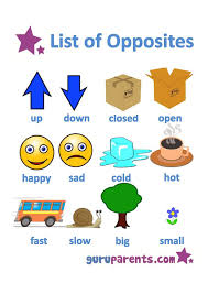 best 25 opposite words for kids ideas on pinterest opposites