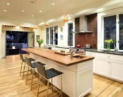 grand ilot de cuisine ilot de cuisine fait maison cuisine avec bar grand ilot de cuisine