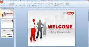 company presentation template eliolera
