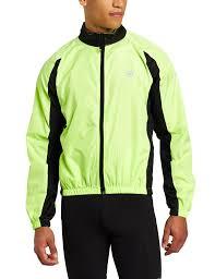 bicycle windbreaker amazon com canari cyclewear men u0027s flash shell cycling jackets