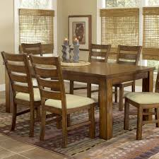 dark oak dining furniture furniture of america tenza 7 piece dark