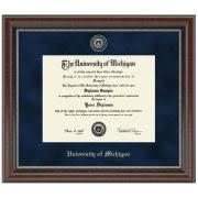 of michigan diploma frame diploma frames the m den