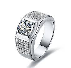 rings design for men aliexpress buy royal design 1 carat vintage brilliant sona