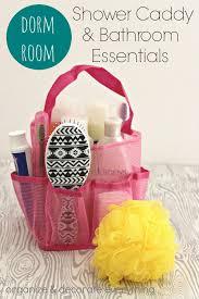 Bathroom Necessities Checklist Dorm Room Shower Caddy And Bathroom Essentials Organize And