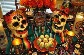 Dia De Los Muertos Home Decor Dia De Los Muertos Day Of The Dead Themed Halloween Dinner Party
