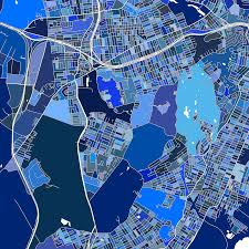 Usa Map New York City by Staten Island New York City Map Print Usa U2013 Maps As Art