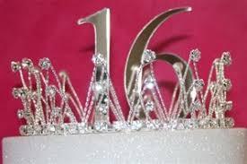 sweet 16 cake topper marilyn s caribbean cakes sweet 16 crown cake topper set
