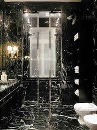 Marble Bathrooms Ideas Colors Oh My Goodness Bathroom Done Completely In Black Marble