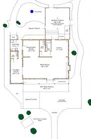 floor and site plans destin bay house