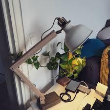industrial desk lamp ikea ranarp wood industrial desk lamp ikea hackers ikea hackers