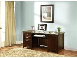 Small Dark Wood Desk Computer Desks Computer Desk Cherry Color Ct Whalen Baylor Dark