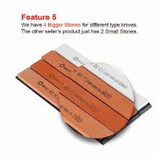 Sharpening Stone For Kitchen Knives by Ruixin Update Professional Chef Kitchen Knife Sharpener 4pcs