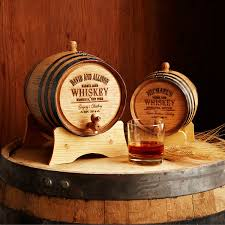 Wine Barrel Home Decor Personalized Whiskey Barrel Mini Barrel Aged Whiskey Couple