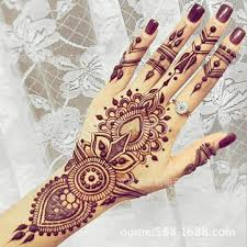 henna tattoo stencils indian templates airbrush lace flower hand