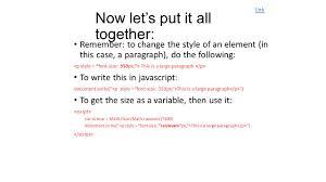 Javascript Floor by Adding Javascript Javascript Guidelines Document Write