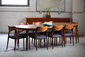 mid century walnut dining table interior engaging mid century modern extendable dining table 9
