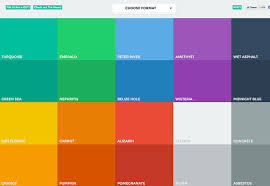 beautiful colors hex the ultimate guide to flat design webdesigner depot
