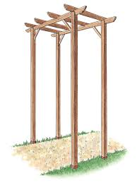 how to build a freestanding wooden pergola kit how tos diy