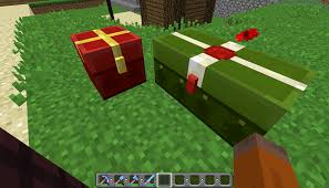 minecraft christmas is there a way to grab the chest textures