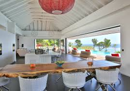 deco bois brut une villa paradisiaque en guadeloupe elle décoration