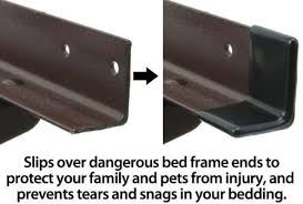 Bed Frame Protector 1 1 2 Gashguards Deluxe Plastic Bed Frame End Caps