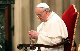 pope francis rosary pope francis the rosary is the prayer of my heart catholic news