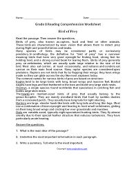 reading worksheets for 2nd grade u2013 wallpapercraft