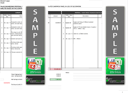 construction cost report template cost forms construction templates