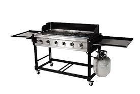 Brinkmann Backyard Kitchen Brinkmann 6 Burner Model 810 9600 S Gas Grill Review Discontinued