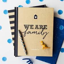 family scrapbook and memory book by illustries