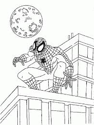 spiderman coloring pages coloringpages1001