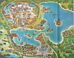 Disney World Monorail Map by The 1971 Walt Disney World Map A Detailed Look At Bay Lake