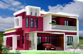 contemporary home design plans box type contemporary home homes design plans