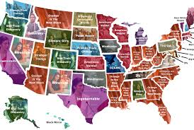 Best Road Trip Map This Map Shows The Ultimate U S Road Trip Mental Floss