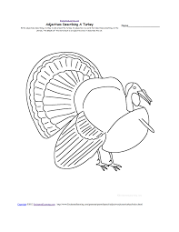 pioneering turkey template for thanksgiving crafts worksheets
