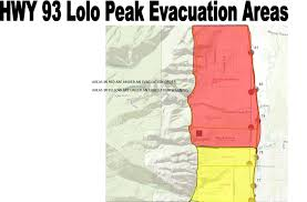 Wildfire Map Manitoba by New Evacuations Ordered Near Lolo Peak Fire For 300 400 Homes