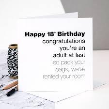 18th birthday card u0027you u0027re an at last u0027 by coulson macleod