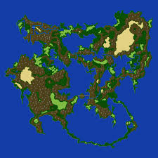 Fantasy World Maps by Final Fantasy 5 World Maps