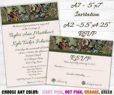 Camouflage Wedding Invitations Diy The Hunt Is Over Wedding Invitations By Keydesigns13 On Etsy