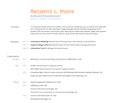 Best Resume Overview by Best Resume Examples For Your Job Search Resume Samples By Type