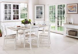 White Wooden Dining Table And Chairs Fancy White Wood Dining Table And Chairs White Dining Table Dining