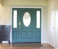 painted front door front door colors with chalk paint ask anna