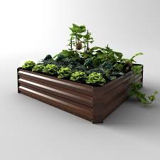 Lowes Planter Box by Easygarden 4 Ft X 3 Ft Raised Garden Bed Lowe U0027s Canada