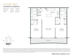 2 Bedroom Condo Floor Plans New Condos At Canvas Condos Miami U2014the Luxury Team
