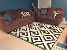 ikea black and white aztec rug creative rugs decoration