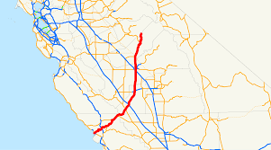 Ca State Parks Map by California State Route 41 Wikipedia