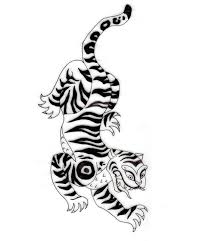 korean tiger tattoo pictures to pin on pinterest tattooskid